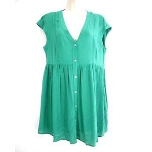 Vanessa Virginia Tunic Dress S Babydoll Buttons